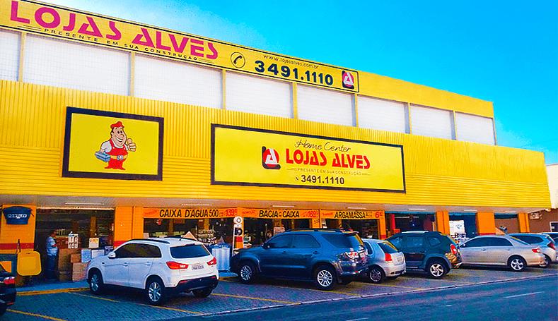 Fachada Lojas Alves