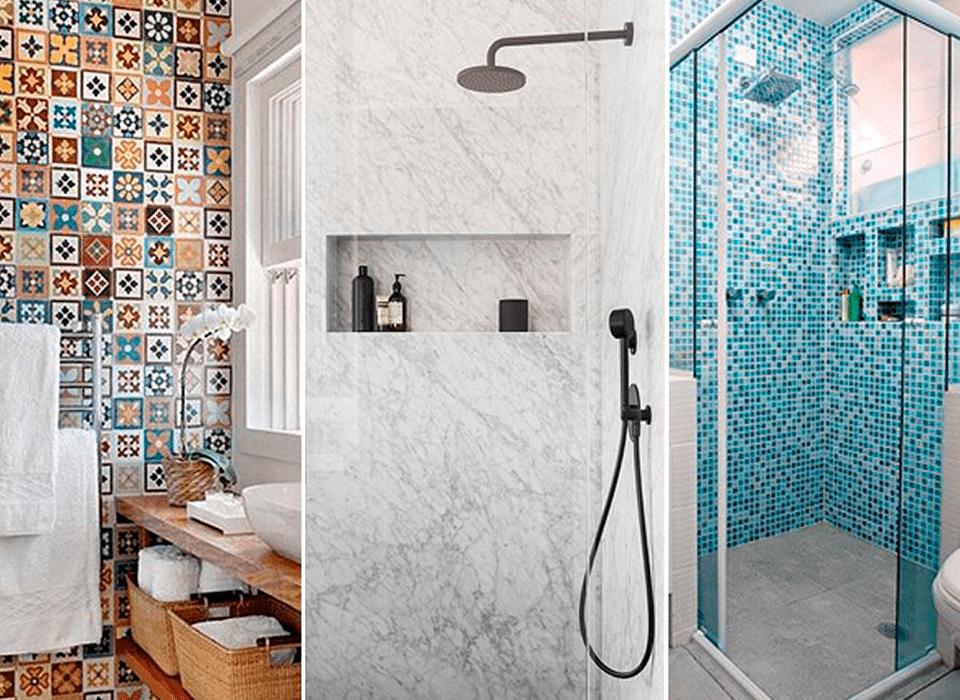 Revestimentos para banheiro - Lojas Alves