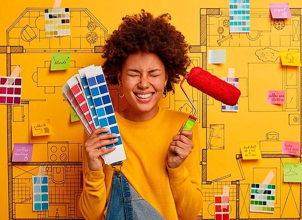 Pintar a casa - Lojas Alves